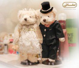 عروسک تزئینی عروس و داماد