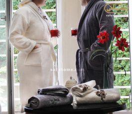 سرویس حوله تن پوش عروس و داماد
