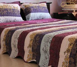 زیبایی اتاق خواب با روتختی ظریف 4 فصل طرح Sianna