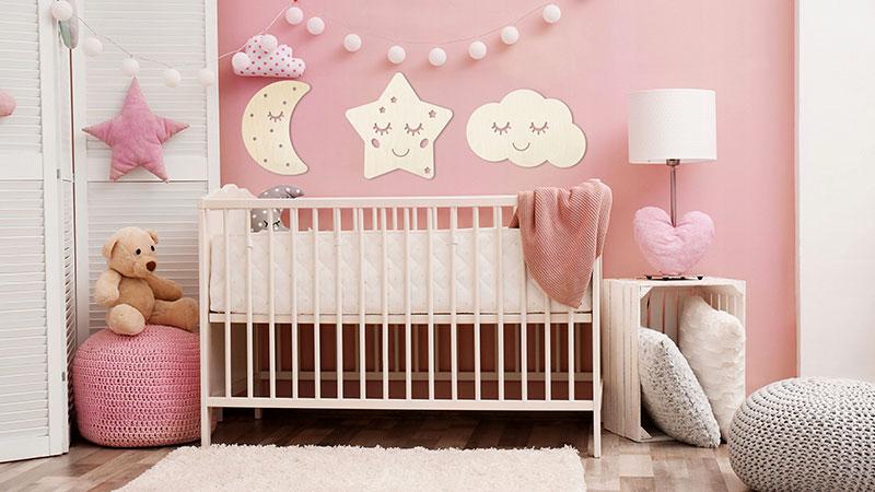 ابعاد استاندارد تخت نوزاد