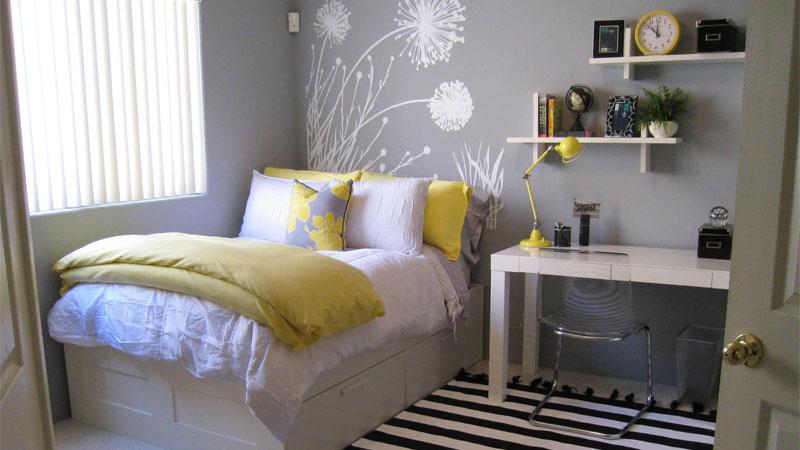 تخت را در مناسبترین جای اتاق قرار دهید