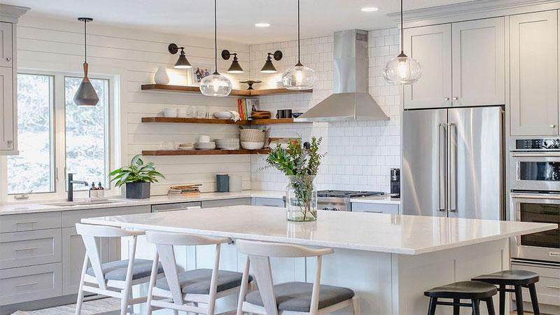 جدیدترین ایدهها برای چیدمان و تزیین آشپزخانه عروس
