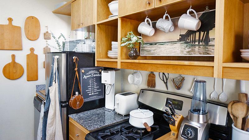تزیین آشپزخانه عروس ساده و مینیمال برای عروسهای ایرانی