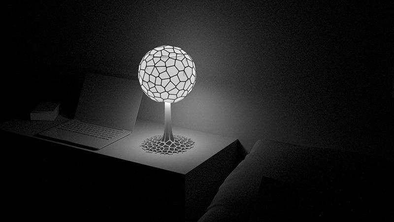 چراغ خواب سه بعدی برای تزئین اتاق