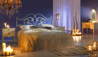 ایدههای جذاب برای تزیین اتاق خواب رمانتیک با شمع برای عروسها