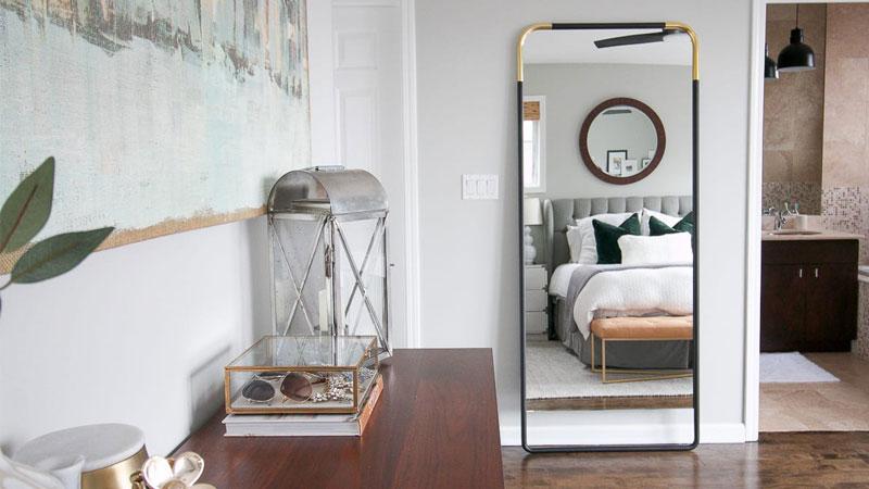 5- مکان مناسب آینه و قاب عکس، فنگ شویی اتاق خواب برای جذب عشق