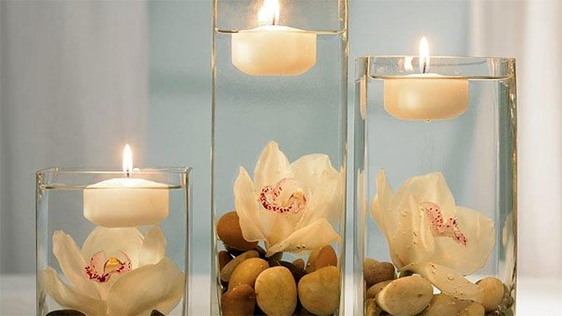 نحوه شمع آرایی برای مهمانی