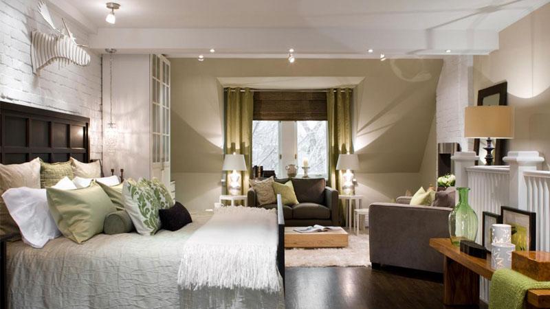 استفاده از نور مخفی بهترین گزینه برای اتاقخوابهای کوچک