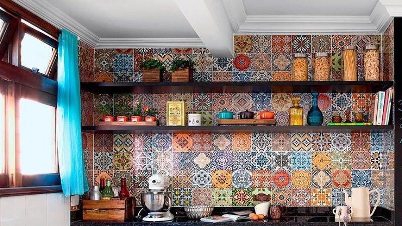 نحوه چیدمان آشپزخانه ساده ایرانی