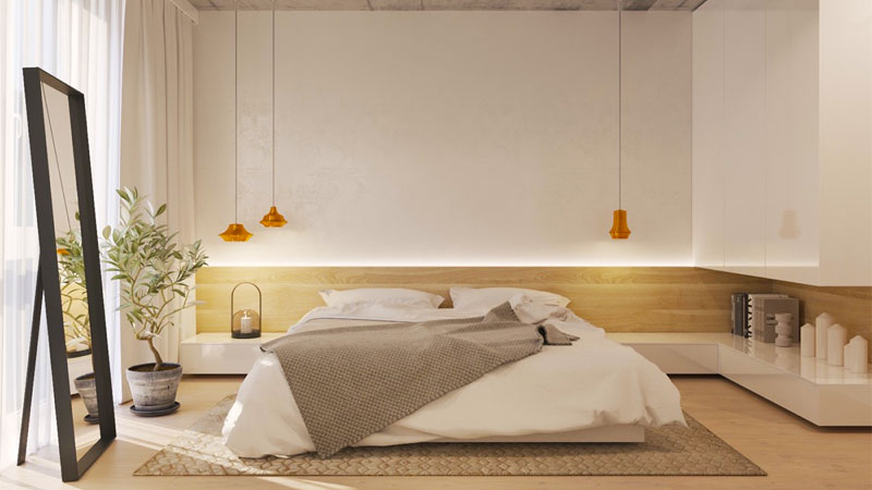 دکوراسیون مینیمال اتاق خواب، آرامش، زیبایی و مدرنیته در کنار هم