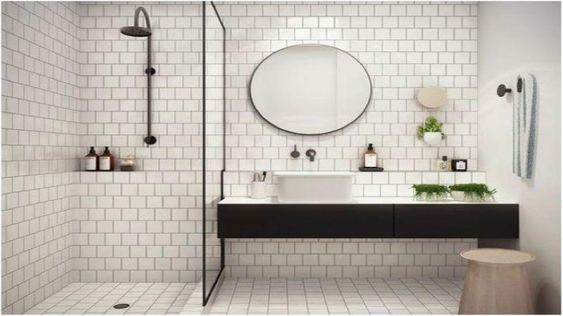 بهترین شیوه چیدمان عناصر در سرویس بهداشتیهای کوچک - صفاهوم