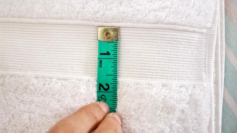 یک راهنمای کامل برای سایز بندی حوله تن پوش