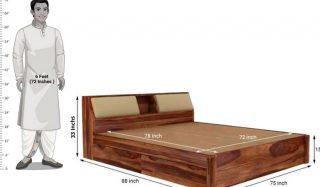 آیا میدانید اندازه استاندارد تخت خواب چقدر است؟