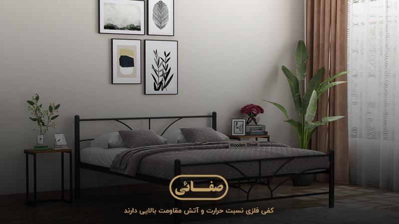 ابعاد کفی تخت چوبی، معیار مهم در خرید تخت