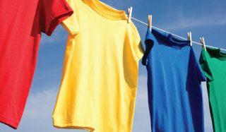 معرفی راههای از بین بردن چرک مردگی لباس رنگی